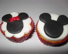 Mini Cupcakes Mickey e Minnie