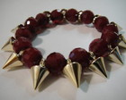 Pulseira spike red hot