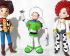 Toy Story - Buzz, Woody e Jessie
