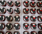 Mini Cupcakes de Mickey e Minnie