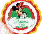 Rotulo Latinha Mint to be Minnie