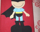 CADERNO BATMAN KID