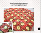 Mini Copinhos de Chocolate com Trufa