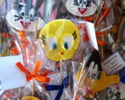Biscoito decorado looney tunes