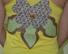 blusas customizadas com patchcolagem