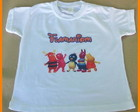 Camiseta backyardigans