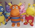 PERSONAGENS BACKYARDIGANS