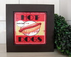 Mod2.Quadro Decorativo Hot Dogs