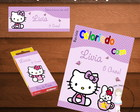 "Kit Colorir ""Hello Kitty"""
