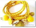Pulseira Click in Yellow