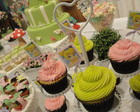 "Toppers para cupcakes ""Tinkerbell"""