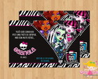 Convite Monster High mod.2