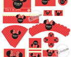 Minnie - Kit festa personalizada