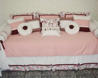 Kit Cama Rosa Antigo