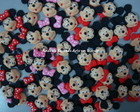 Mini Aplique Mickey ou Minnie