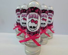 Lembrancinha - Mini Tubo MONSTER HIGH
