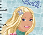 Barbie - Régua Do Crescimento - Rb-107