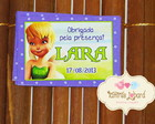 Tag Lembrancinha - Tinker Bell