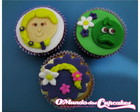 Cupcake Regular Princesas