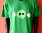 Camiseta Bad Pig - Angry Birds