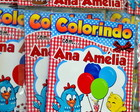 Kit Revista colorir Galinha Pintadinha