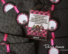 Convite Credencial - Monster High