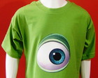 Camiseta Infantil Mike Monstros S/A