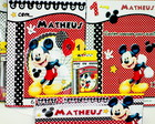 Kit Revista de colorir Mickey Mouse