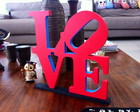 LOVE NY 25x25 C/ base