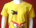 Camiseta Infantil Angry Birds - Yellow