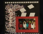 FOLHA DE SCRAPBOOK- TEMA HOLLYWOOD