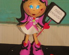 Boneca Monster High de e.v.a