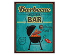 Placa MDF Retrô Barbecue Bar - 672