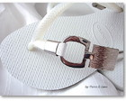Havaiana in Silver
