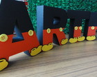 Letras 3d Decoradas Mickey