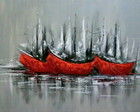 PAINEL BARCOS ABSTRATO 80x100 COD127