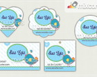 Kit Tags - Etiquetas Com Design! Mod65