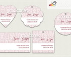 Kit Tags - Etiquetas Com Design Mod89