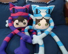 Toy Art Casal gatos Cheshire