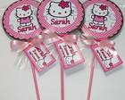 Pirulito de chocolate - Hello Kitty