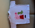 Camiseta peppa patchwork aplique