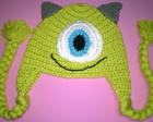 Touca Mike Wazowski (Monstros S.A.)