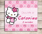 Adesivo chocolate Hello Kitty
