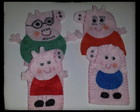 Dedoches Família Peppa