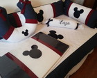 Kit berço Mickey ou Minie7 pcs