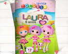 Revista Colorir Lalaloopsy