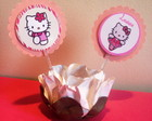 Tag / topper Hello Kitty