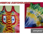CAMISETA REGATA CUSTOMIZADA