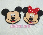 aplique minnie e mickey(cada)