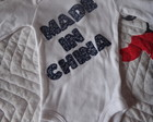 Body ou Camiseta Made in China
